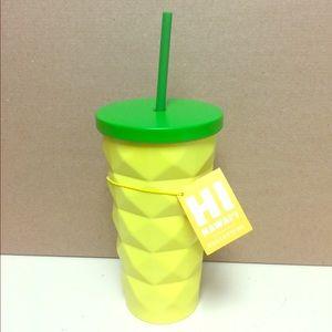 Starbucks Pineapple Tumbler.